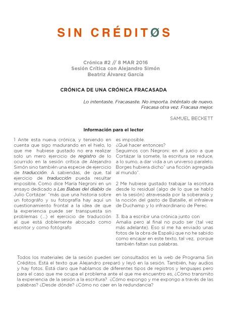 Cronica #2 Cronica de una cronica fracasada - Beatriz Alvares Fernandez_Page_1